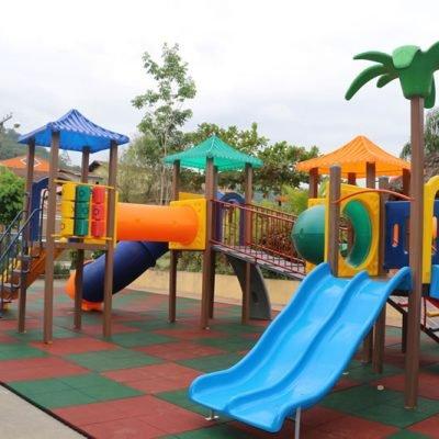 Playground Ecológico Infantil - Modelo Eco 403