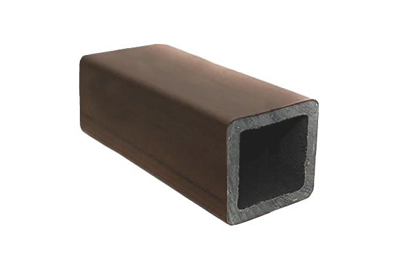 Palanque 90x90mm - Jatobá - Mourão de Madeira Plástica