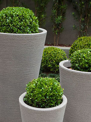 Vaso Plástico para jardim