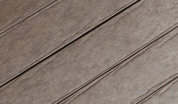 Textura da Madeira Plástica Maciça para deck